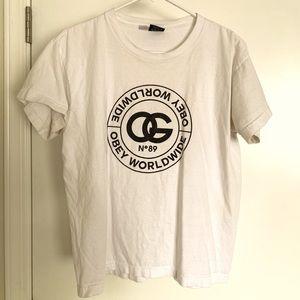 White Obey T-shirt